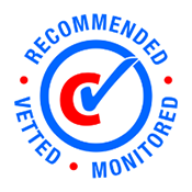 recommended, vetted, monitored